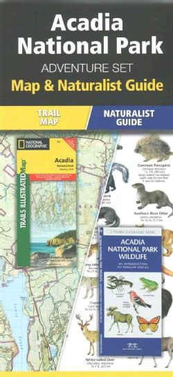 Acadia National Park Adventure Set: Map & Naturalist Guide