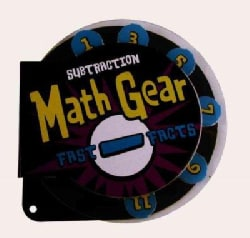 Math Gear Subtraction: Fast Facts (Hardcover)