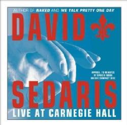 David Sedaris Live at Carnegie Hall (CD-Audio)