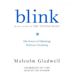Blink: The Power Of Thinking Without Thinking (CD-Audio)
