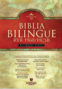 Santa Biblia / Holy Bible: Reina Valera Revisada 1960/Holman Christian Standard Bilingual Bible, Burgundy Imitation (Paperback)