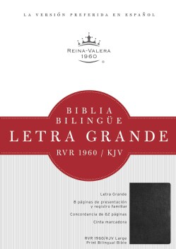 Santa Biblia / Holy Bible: Reina-Valera 1960/King James Version, Negro, Imitacion Piel / Black, Imitation Leather (Paperback)