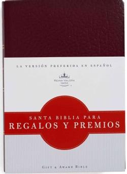 La Santa Biblia / The Holy Bible: Reina-Valera 1960, Rojizo / Burgundy, Imitacion piel / Imitation Leather: Regal... (Paperback)