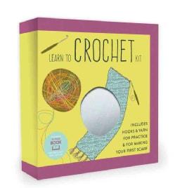 Learn to Crochet Kit (Hardcover)