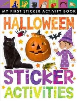 Halloween Sticker Activities (Paperback)