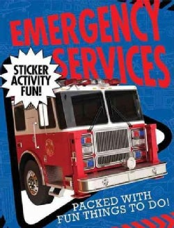 Emergency Services Sticker Activity Fun (Paperback)