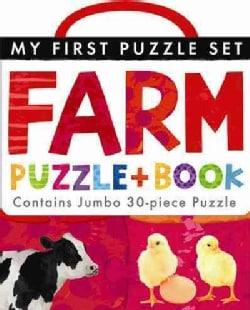 Farm Puzzle and Book Set