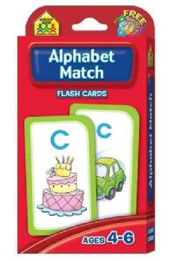 Alphabet Match: Ages 4-6 (Cards)