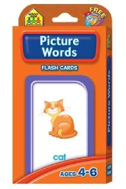 Picture Words: Ages 4-6 (Cards)