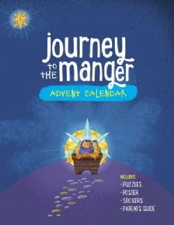 Journey to the Manger Advent Calendar (Paperback)