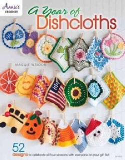 A Year of Dishcloths (Paperback)