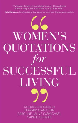 Women's Quotations for Successful Living (Paperback)