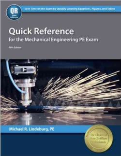 Quick Reference for the Mechanical Engineering PE Exam (Paperback)