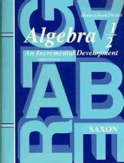 Algebra 1 / 2 (Paperback)