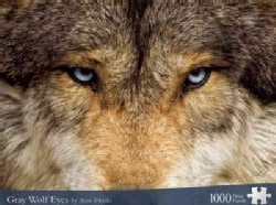 Gray Wolf Eyes: Jigsaw Puzzle (General merchandise)