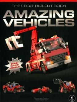 The Lego Build-It Book: Amazing Vehicles (Paperback)