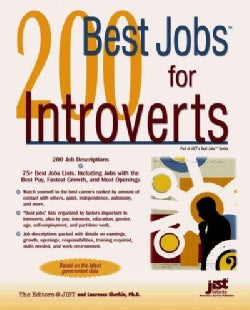 200 Best Jobs for Introverts (Paperback)