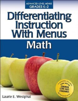 Differentiating Instruction With Menus: Math: Grades K-2 (Paperback)