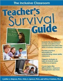 Teacher's Survival Guide: The Inclusion Classroom (Paperback)