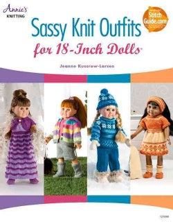 Sassy Knit Outfits For 18-Inch Dolls (Paperback)