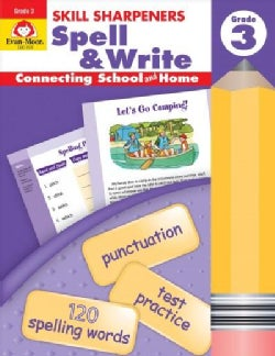 Skill Sharpeners Spell And Write Grade 3 (Paperback)