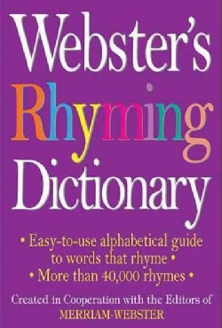 Webster's Rhyming Dictionary (Paperback)