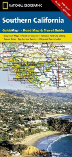 National Geographic State Guide Map Southern California (Sheet map)