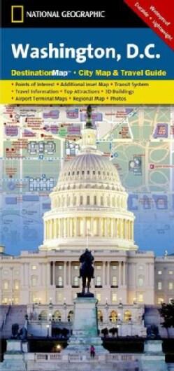 National Geographic Destination Map Washington D.C. (Sheet map, folded)