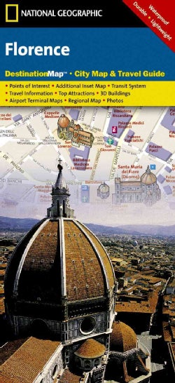 National Geographic Destination Map Florence (Sheet map, folded)
