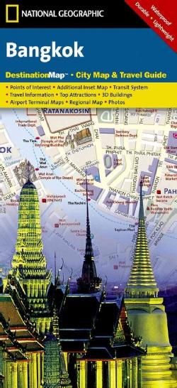 National Geographic Destination Map Bangkok (Sheet map, folded)
