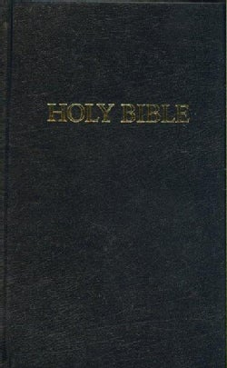 The Holy Bible: King James Version, Black, Pew (Hardcover)