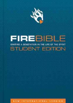 Fire Bible: New International Version (Hardcover)