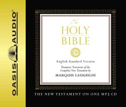 The Holy Bible English Standard Version New Testament Bible (CD-Audio)