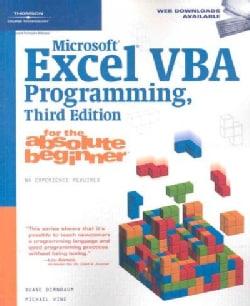 Microsoft Excel Vba Programming, for the Absolute Beginner (Paperback)