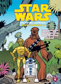 Star Wars: Clone Wars Adventures 4 (Hardcover)