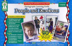 People and Emotions: Photographic Learning Cards (Cards)