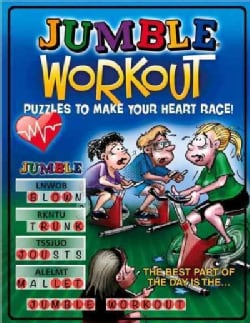 Jumble Workout Puzzles to Make Your Heart Race! (Paperback)