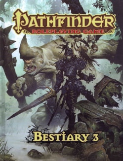 Pathfinder Roleplaying Game Bestiary 3 (Hardcover)