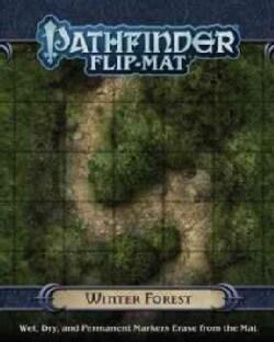 Pathfinder Flip-Mat - Winter Forest (Game)