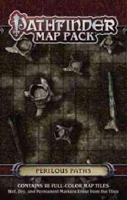 Pathfinder Map Pack - Perilous Paths (Game)