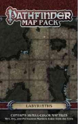Pathfinder Map Pack: Labyrinths (Game)
