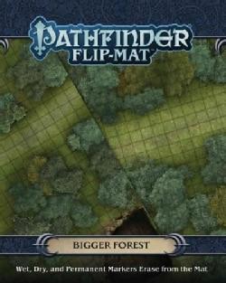 """Pathfinder Flip-Mat Bigger Forest: 27"""" X 39"""" Mat 1"""" Squares on Each Side (Game)"""