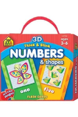 3D Think & Blink Numbers & Shapes Flash Cards (Cards)