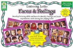 Faces & Feelings: Develop Listening Skills and Learn to Identify Feelings and Facial Expressions, While Having Fun Playing Lo...