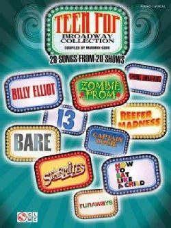 Teen Pop Broadway Collection: 28 Songs from 20 Shows: Piano / Vocal (Paperback)