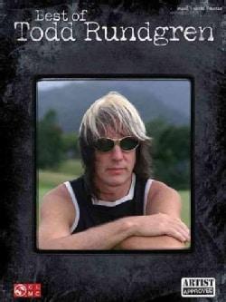 Best of Todd Rundgren: Piano - Vocal - Guitar (Paperback)