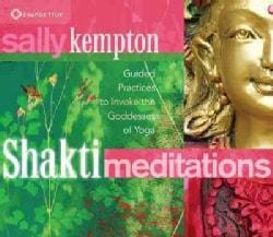 Shakti Meditations: Guided Practices to Invoke the Goddesses of Yoga (CD-Audio)