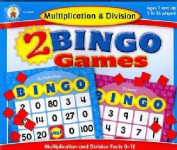 Multiplication & Division Bingo (Game)