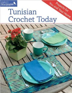Tunisian Crochet Today: Projects for You and Your Home (Paperback)