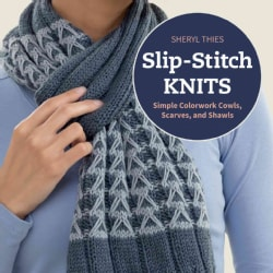 Slip-Stitch Knits: Simple Colorwork Cowls, Scarves, and Shawls (Paperback)